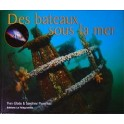 Des bateaux sous la mer